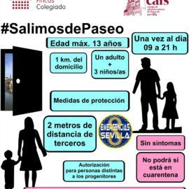 Aclaraciones sobre el uso de zonas comunes de los edificios a raiz del permiso para la salida de niños durante el estado de alarma.